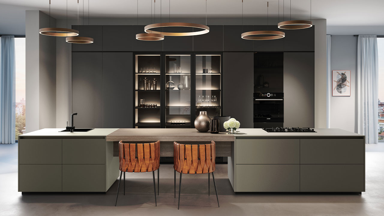 Futuristic kitchen design Dorset