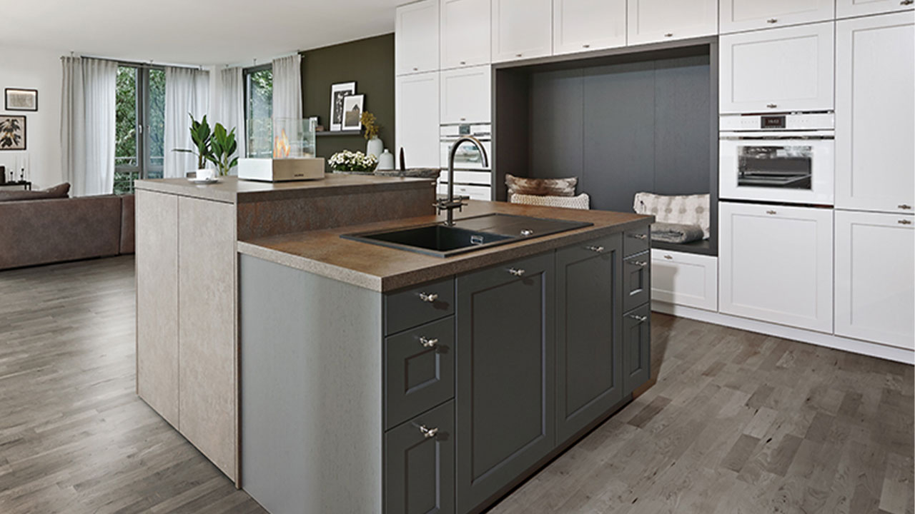 Open plan luxury kitchen Dorset