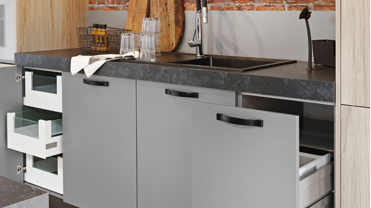 Modern kitchen drawer units Bournemouth