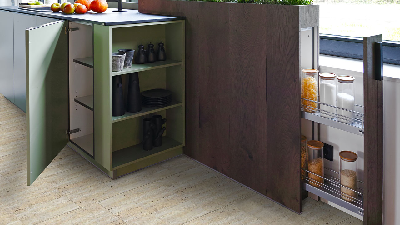Concealed drawer kitchen unit Dorset