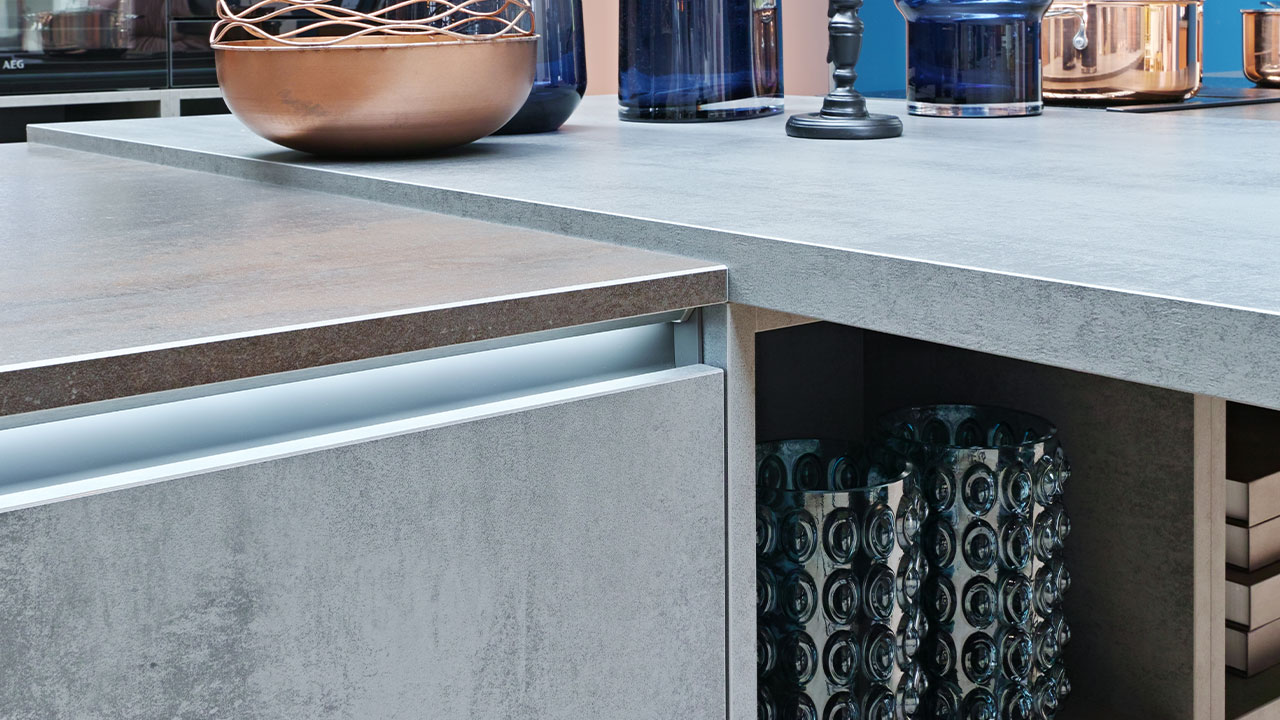 Luxury kitchen top detail Bournemouth