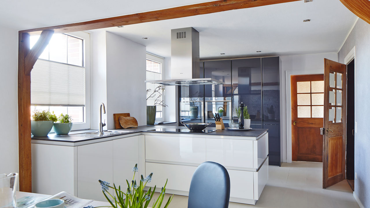 Modern kitchen design Dorset